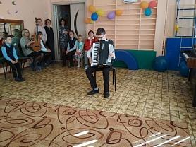 У нас в гостях музыкальная школа!