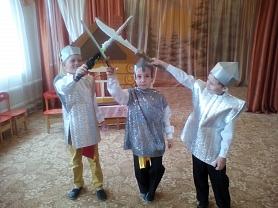 Развлечение по нравственно-патриотическому воспитанию «Богатыри-защитники земли русской»