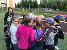 Веревочный курс в школьном лагере
