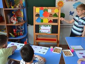 Непрерывная-образовательная деятельность по реализации образовательной области «Познавательное развитие» (ФЭМП) в подготовительной логопедической группе №10