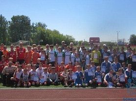Республиканский финал соревнований по футболу, среди сельских команд, «Колосок»
