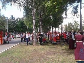 Праздничное шествие в Саранске
