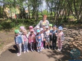 Экскурсия в Школьный сад