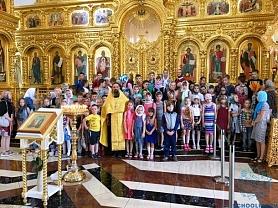 Экскурсия в храм Святых равноапостольных Мефодия и Кирилла.