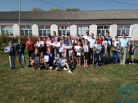 Легкоатлеты Ардатовского района почтили память Евгения Ишуткина