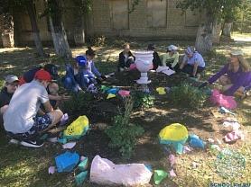 Акция «Чистый школьный двор»
