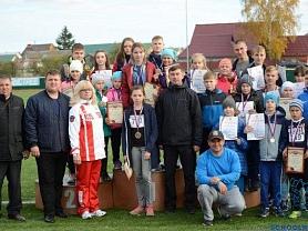 Соревнования по бегу в честь Главы Ромодановского муниципального района