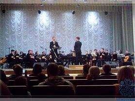 Концерт образцового молодёжного оркестра русских народных инструментов ДМШ № 2 им. В.К. Мержанова