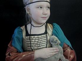 13 ноября ученики 3 «Б» посетили фотовыставку известной рузаевской мастерицы Ольги Буйновой.