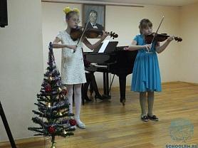 """""""Новогодний фейерверк"""" на скрипичном отделении"""