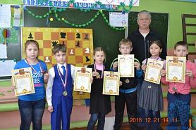 Новогодний турнир по шахматам