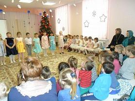 Рождественские встречи в детском саду