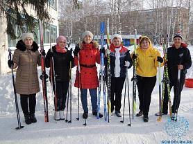 Лыжный марафон «Лыжи – это спорт и развлечение»