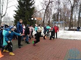 Веселые старты в парке им.А.С.Пушкина