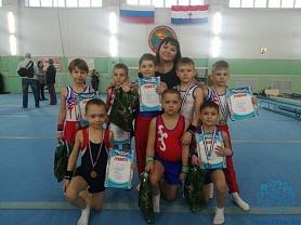 Первенство ДЮСШ №1 по спортивной гимнастике