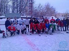 Республиканский турнир по хоккею с шайбой среди детских команд