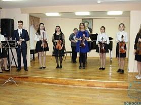 «Весь мир – театр» – состоялся отчетный концерт скрипичного отделения