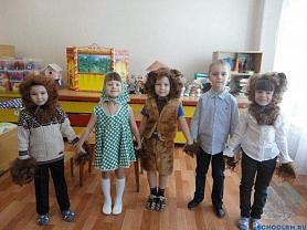 """Театрализация сказки """"Три медведя"""", в группе №2"""