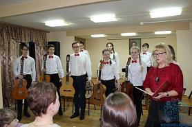 «Нам 50!» – состоялся отчетный концерт отделения народных инструментов