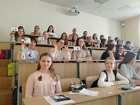 Гимназия №12 приняла участие в тотальном диктанте!