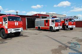 Экскурсия в пожарно-спасательную часть № 3 Пролетарского района