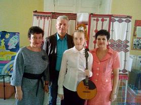 Городской отчётный концерт народного  отделения