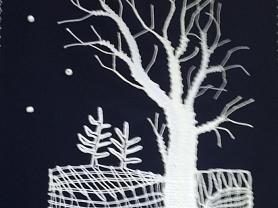 Кружевные зимние композиции