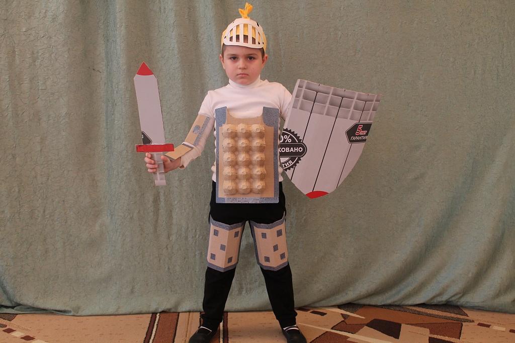 Детский костюм из бросового своими руками 44