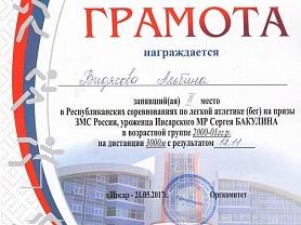 Республиканские соревнования по легкой атлетике на призы С.Бакулина