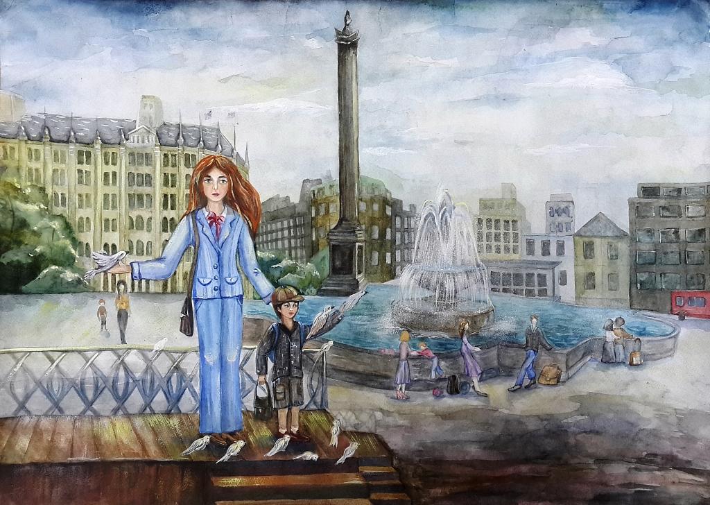 Дипломные работы года МОУДОД Детская художественная школа №  Дипломные работы 2017 года