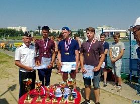 29 июля на базе водоема стадиона Старт состоялись соревнования по спасательному многоборью на воде, посвященные Дню военно-морского флота России