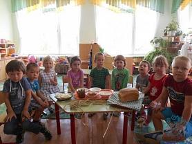 Беседа в средней группе №11  «Откуда хлеб пришел?» воспитатель Егоркина М.Н.