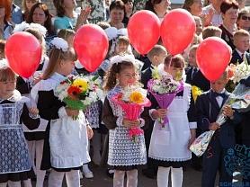 Здравствуй, школа! Школа ,здравствуй! Торжественная линейка в Ичалковской средней школе.