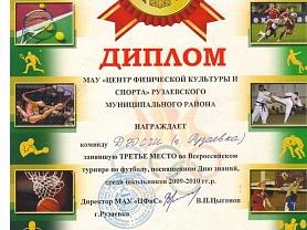 Всероссийский турнир по футболу, посвященный Дню знаний