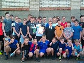 Школьный турнир по футболу, посвященный памяти С.И. Пимантьева.
