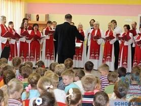 Концерт Государственного камерного хора в прогимназии
