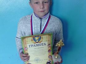 Полунин Владислав-2 место в районных соревнованиях по бегу  на приз Главы Ельниковского муниципального района