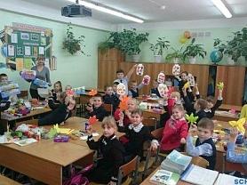 Осенние мастер-классы для учеников общеобразовательной школы № 25