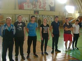 Матчевая встреча по волейболу