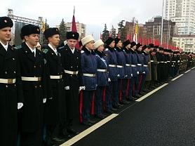 Парад, посвящённый 76 годовщине Парада 7 ноября