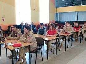 Олимпиада среди юнармейцев на знание военной истории России