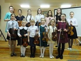 Концерт памяти А.Вивальди и Н.Паганини на скрипичном отделении