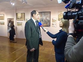 Открытие персональной выставки преподавателя Ваничкина В.Г.