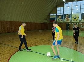 Районные соревнования по мини-футболу