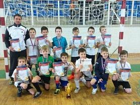 Новогодний турнир по мини-футболу среди детско-юношеских команд 2009-10 г.р.