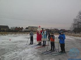 Новогоднее первенство ДЮСШ по лыжным гонкам