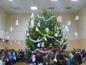 Новогодние праздники в 5-11-х классах