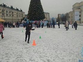 """Рождественские """"Веселые старты"""""""