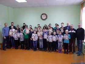 Муниципальный шахматный турнир среди школьников.