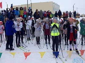 Лично-командное первенство по лыжным гонкам в зачет Спартакиады общеобразовательных учреждений Ардатовского муниципального района